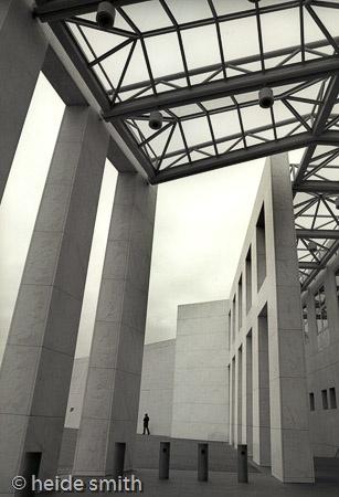 Parliament House Canberra | The Great Verandah Entrance