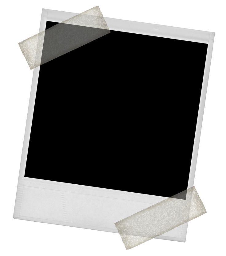 blank polaroid png - 736×836