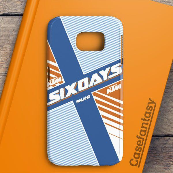 Ktm Motorcycle Six Days Finland Mx Samsung Galaxy S6 Edge Plus Case | casefantasy