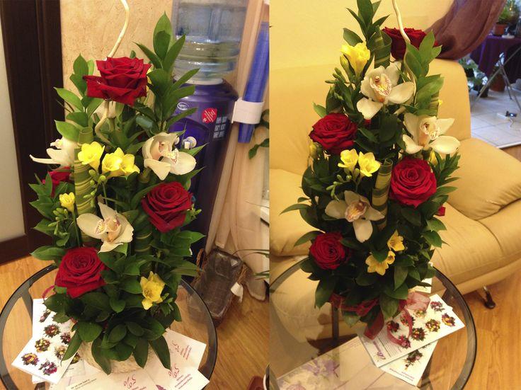 Цветы,цветочные композиции на заказ. Декор и оформление мероприятий +79255765688