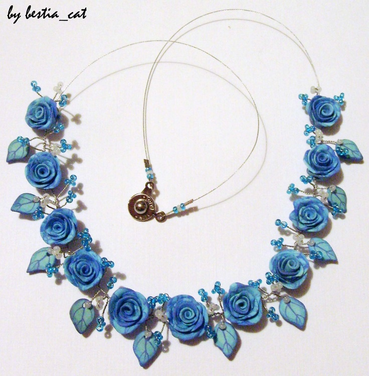 Montage d'un collier en wire  http://bestiacat.blogspot.com/
