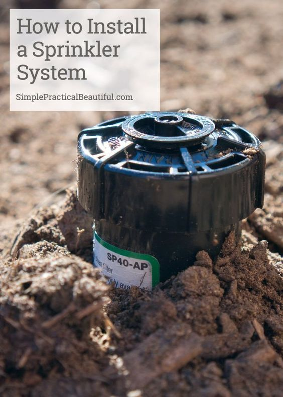 How to DIY your own sprinkler system | Add sprinklers to your landscaping | Do it yourself irrigation