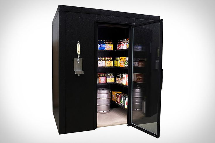 Brew Cave Walk-In Beer Cooler & Kegerator: Idea, Keger, Walk In, Walks In Beer, Brewing Caves, Walkin, Beer Coolers, Caves Walks In, Man Caves