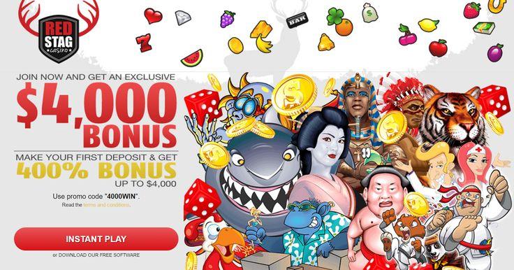red stag casino match bonus