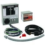 30 Amp Indoor Generator Transfer Switch Kit for 6-10 Circuits