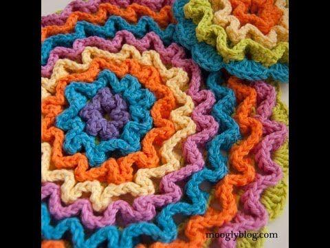 Aprende Crochet Contoneado o Crochet Wiggly / Tutorial y revista para descargar gratis | Patrones para Crochet