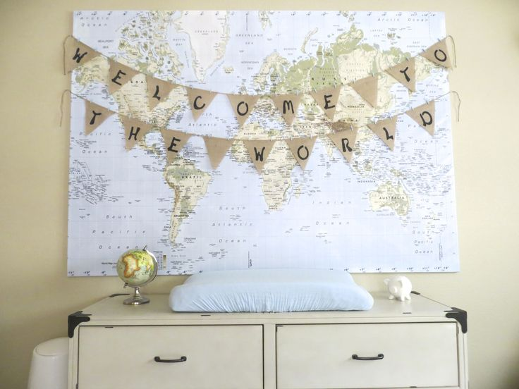 Welcome To The World Nursery Baby Shower Pinterest