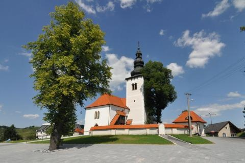 Slovakia, Liptovské Sliače - Church of St. Simon and Jude