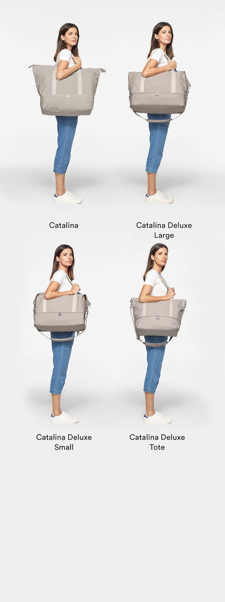 Discover the Catalina Deluxe, a canvas tote weekender bag by Lo & Sons. Features a bottom pocket for packing shoes, messenger bag strap, and back sleeve that attaches to suitcase handles to make traveling easy.