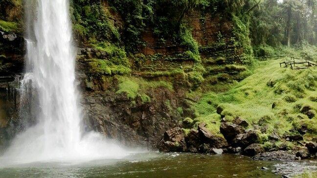 Lone Creek Falls, South Africa.
