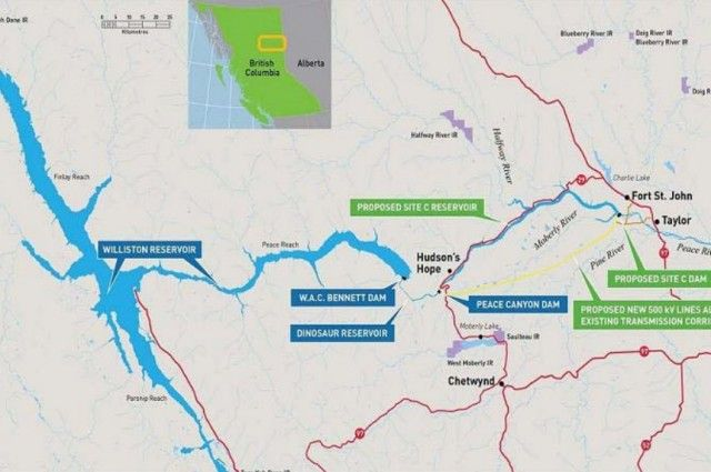 PVLA says Hydro should delay the Site C project by two years   Energeticcity.ca