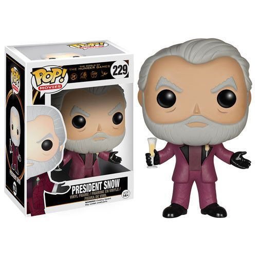The ruthless and tyrannical president of Panem has never been in a cuter form! This Hunger Games Movie President Snow Pop! Vinyl Figure features the dictator as seen in the hit series of Hunger Games