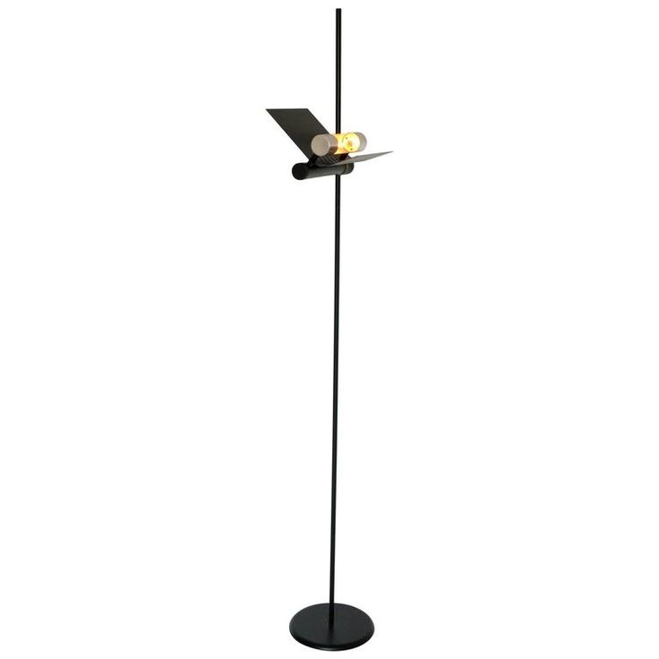 tall halogen floor lamp in the style of joe colombo 1980s italia - Halogen Floor Lamp