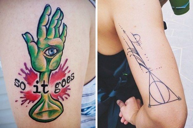 52 Stunning Tattoos Inspired By Books You'll Want To Get Immediately