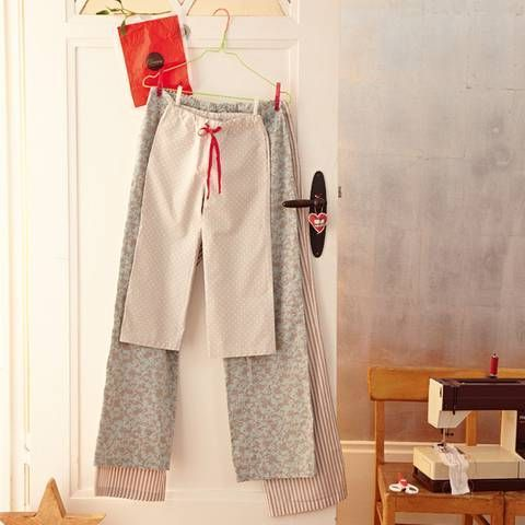 Anleitung: Pyjama-Hose selber nähen - so geht's