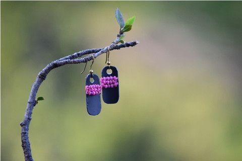 Baby Pink Gauhar Earrings