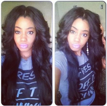 31 best lace closure and sew inll em images on pinterest queen nala hair unprocessed virgin human hair brazilian body wave no shedding no tangle become beauty queen with queen nala ig shared by honey pmusecretfo Image collections