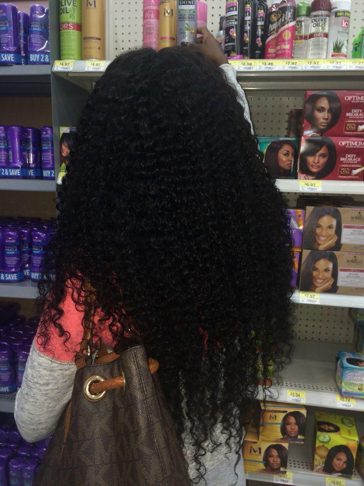 Brazilian deep curly sew in!!!