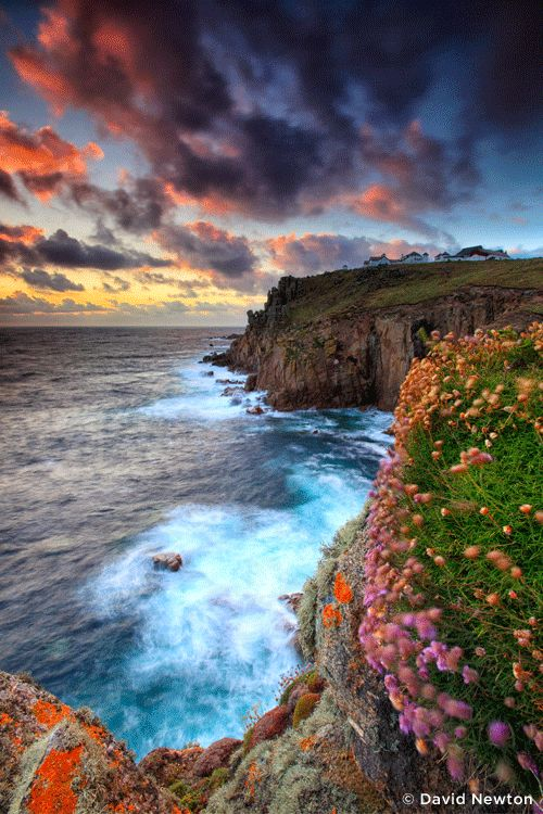 sandisk:  SanDisk Extreme Team photographer David Newton captured this stunning sunset at Land's End in Cornwall, England.