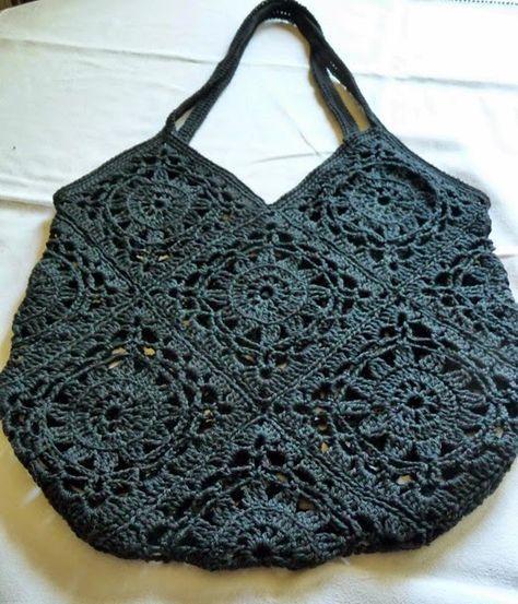 Ich habe so einige Einkaufstaschen und Körbe, doch zu meinen Lieblingen zählen die gehäkelten Einkaufsnetze. Und hier i…