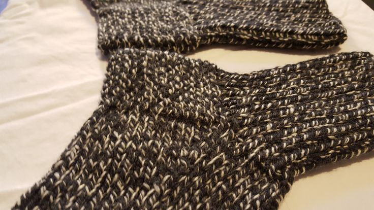 BLACK & WHITE Norwegian knitting technique, hand knitted socks $12/pair CDN + taxes and shipping. Machine washable & dryer friendly. 100% acrylic Turkish/American yarn. Handmade in Vancouver, Canada, available in various colours. #socks #handknitted #handmade #gifts #handysocks