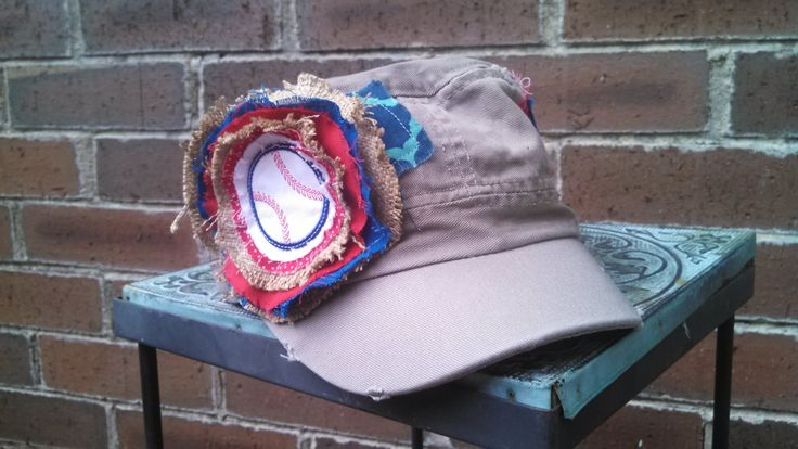 Baseball Theme Cadet style hat Rangers by AddyJosFancyClothes, $24.00