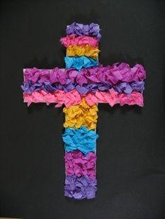 Artigianato di Pasqua per Domenica scuola, croci