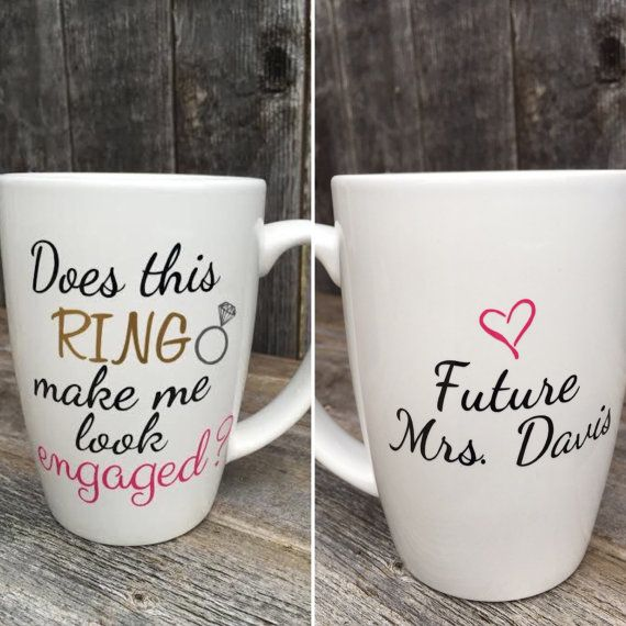 Hey, I found this really awesome Etsy listing at https://www.etsy.com/listing/264274810/does-this-ring-make-me-look-engaged-mug