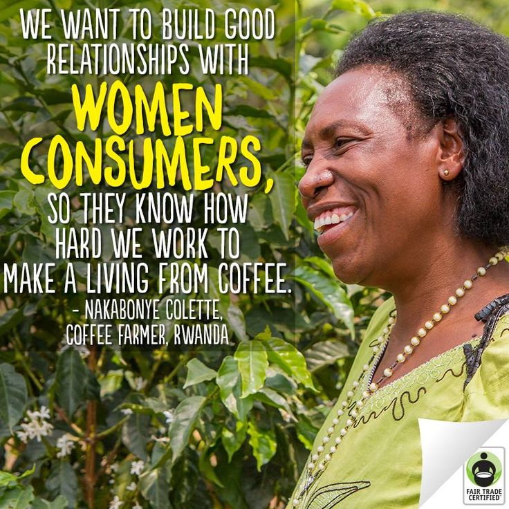 Fair Trade Certified With Fair Trade, women are empowered to be business leaders.  Spread by www.fairtrademarket.com supporting #fairtrade and #novica