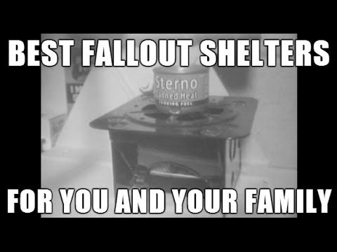 Best Nuclear Fallout Shelters for your FamilyA fallout shelter is an enclosed space specially designed to protect occupants from radioactive debris or fallout resulting from a nuclear explosion. Many such shelters were constructed as civil defense measures during the Cold War.