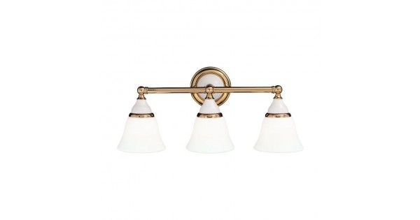 Porcelain 3 Light Vanity