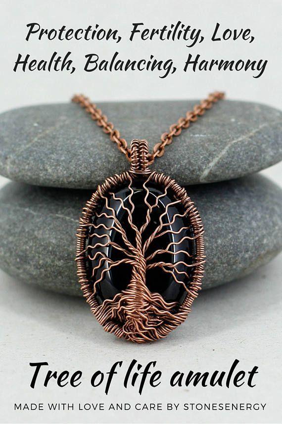 Bronze Tree of Life Locket Pendant Necklace Photo Love Family Gift