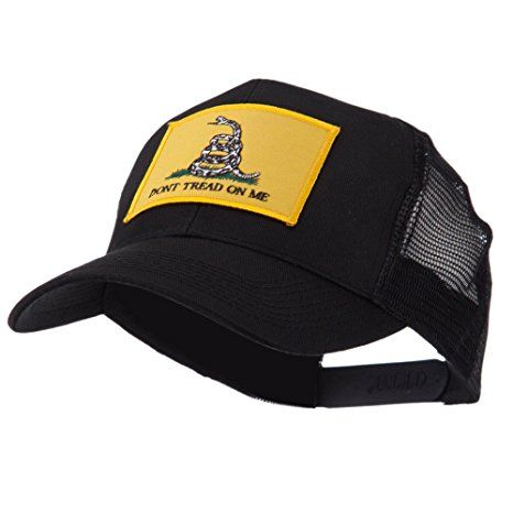 ETC Embroidered Military Patched Mesh Cap - Gadsden OSFM