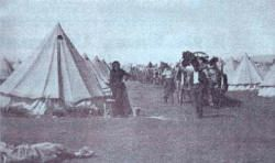 Concentration Camps where the Boerwoman, their children and the elderly were held during the Anglo-Boer War 1899-1902