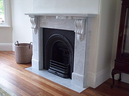 Victorian Design Marble Surround - Chippendale Restorations.