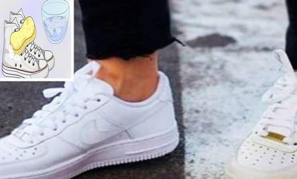 Összekeverte ezt a 2 filléres dolgot, most a cipői fehérebbek, mint új korukban!