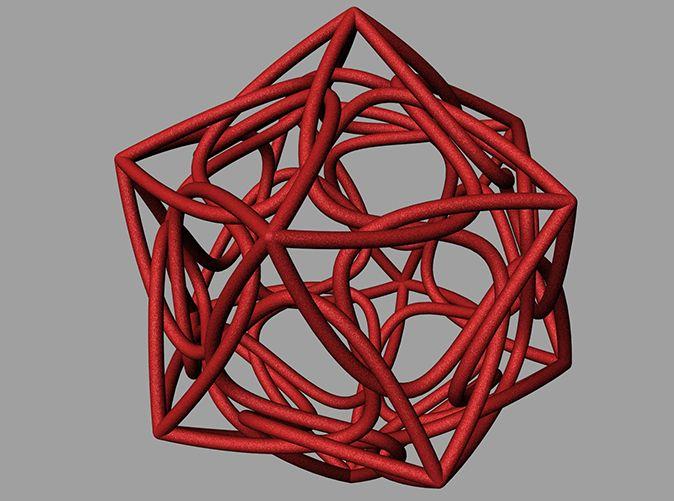 ikosaeder swirl by davidramirer
