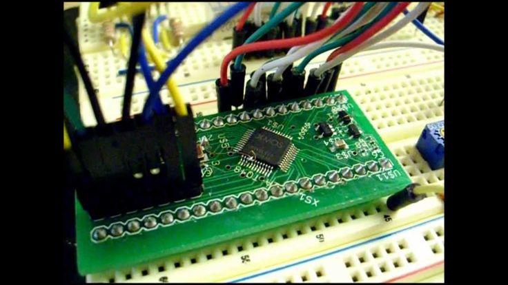 Prototype XMOS XS1-L1 40 pin DIP