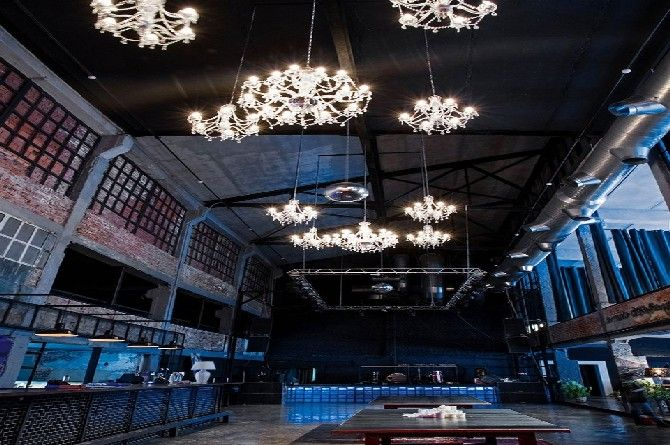 Examples of Modern Light Fixtures for NightClubs | Vintage Industrial Style