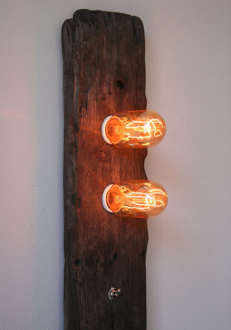Driftwood Lamp - Double Trouble. $115.00, via Etsy.