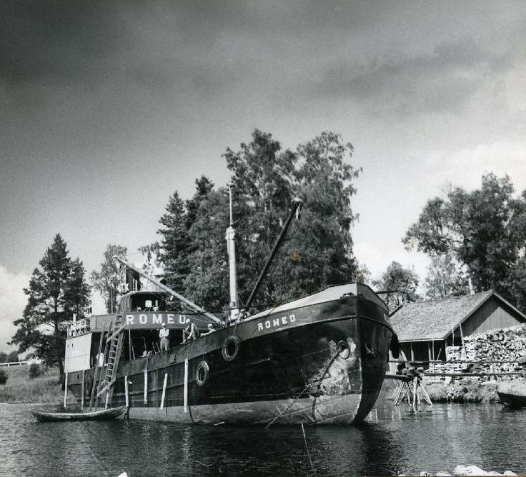 Romeo-tervahöyry, Enso-Gutzeit, #höyrylaivat #steamboat