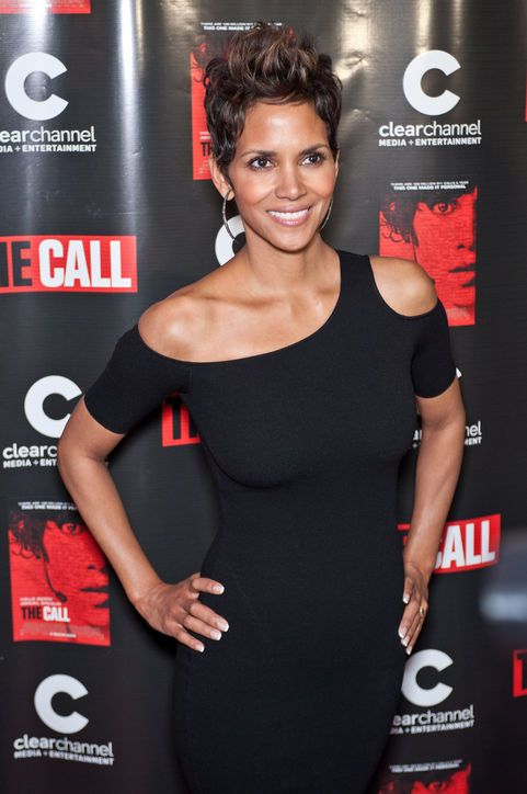 And these are Halle Berry's sexy hair flames.