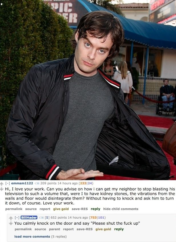 The 12 Best Questions From Bill Hader's Reddit AMA