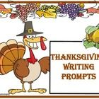 21 journal writes or story starters with Thanksgiving themed prompts and visuals. ...