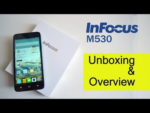 How iS iT - InFocus M530 Unboxing and Overview