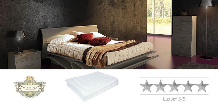 Grand Satin Stripe | Samma sängkläder som finns på lyxhotell