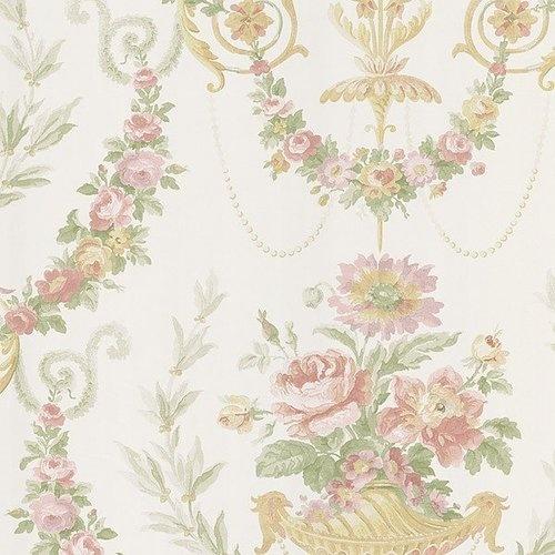 Soft & Romantic Victorian Floral Wallpaper