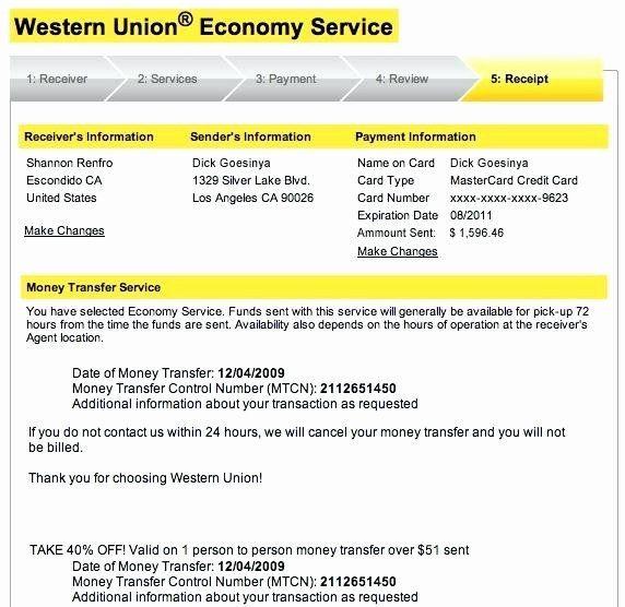Western Union Money Order Template Fresh 15 Fake Moneygram Receipt In 2020 Western Union Union Templates