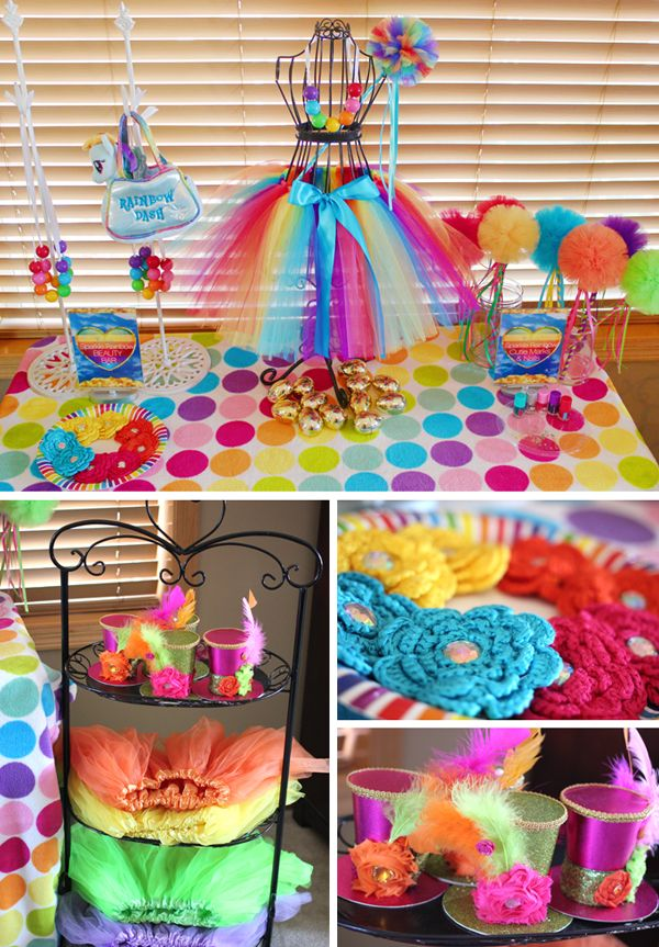 Trend Alert: My Little Pony Rainbow Party