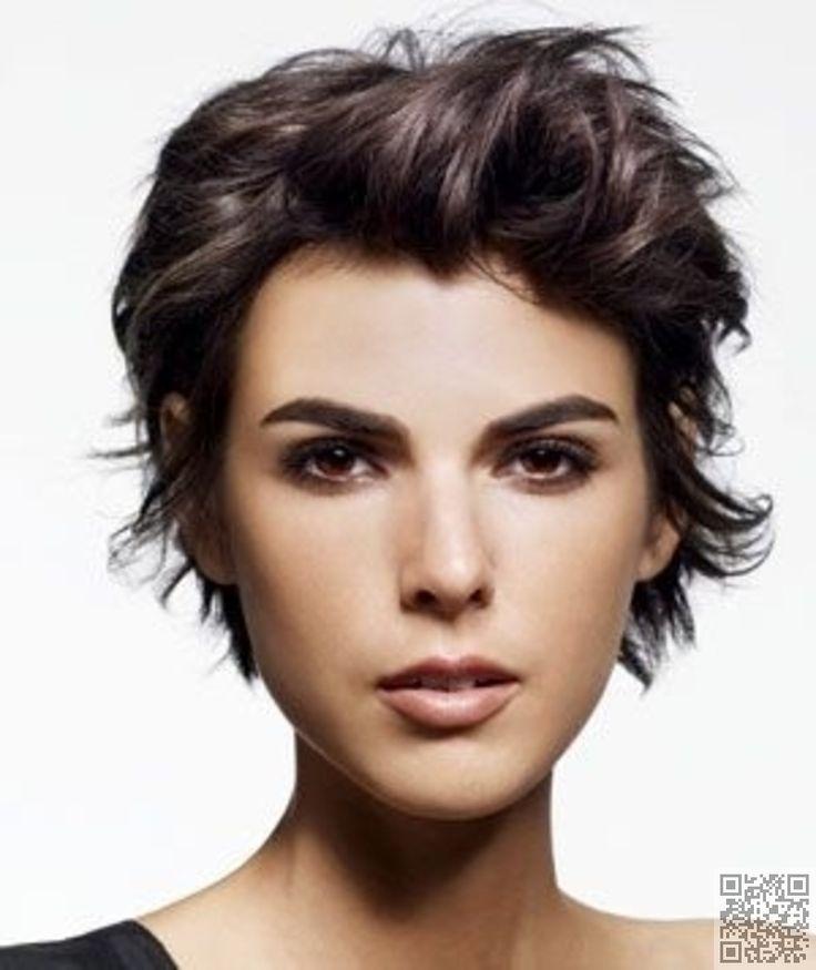 38. #Tousled - 50 Adorable #Short Haircuts ... → Hair #Haircut